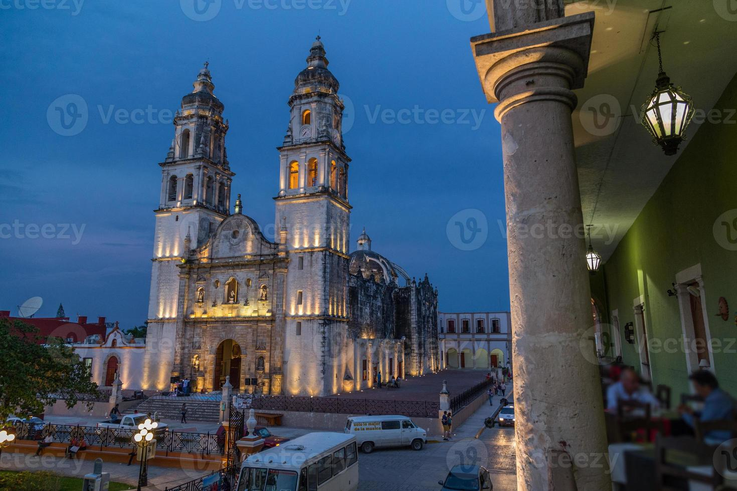 catedral de campeche, méxico. foto