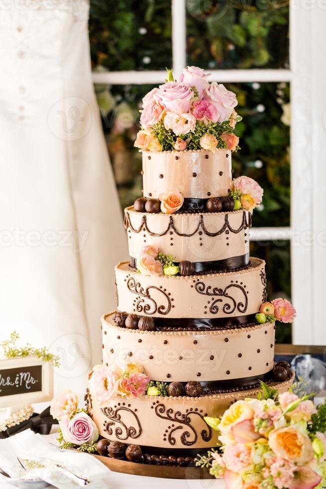 pastel de boda foto