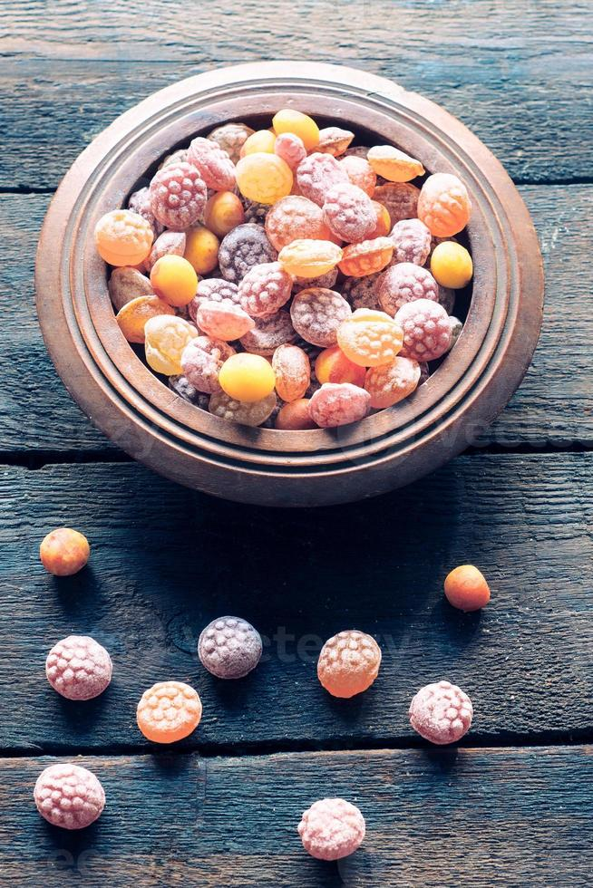 Colorful bonbons photo