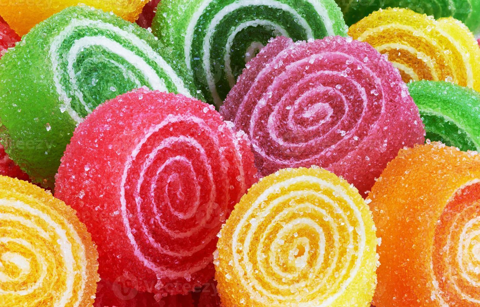 dulce caramelo colorido foto