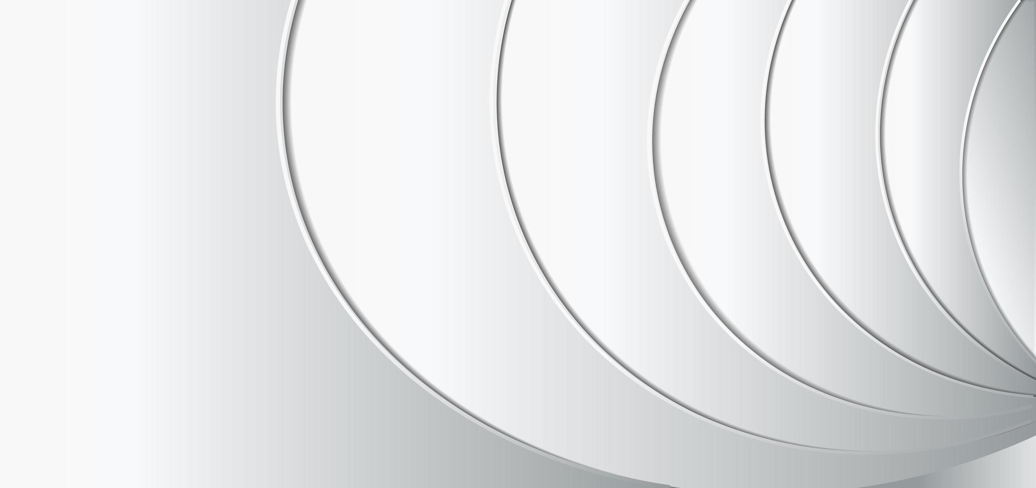 modelo abstrato fundo geométrico branco e cinza vetor
