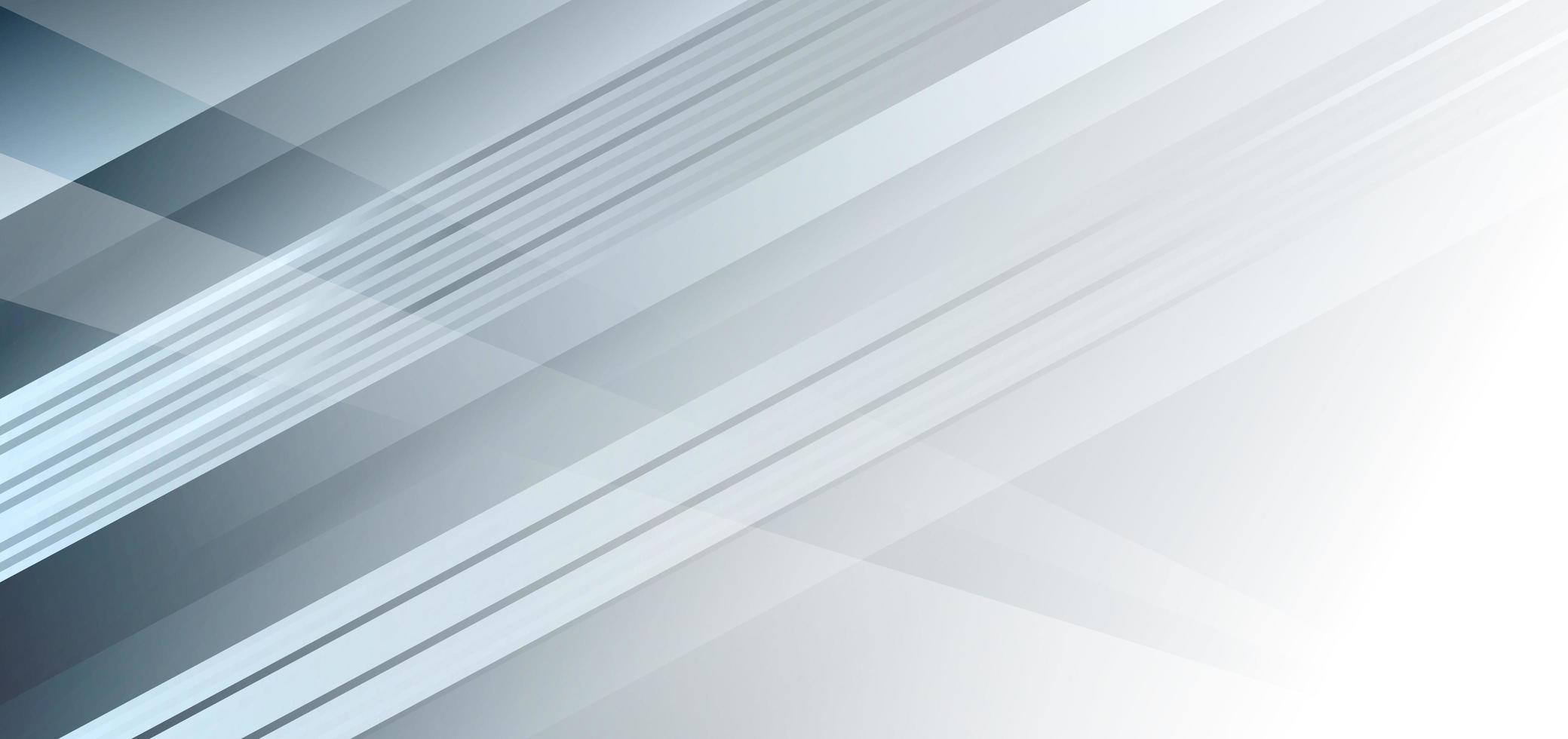 Fondo diagonal blanco y gris geométrico abstracto vector