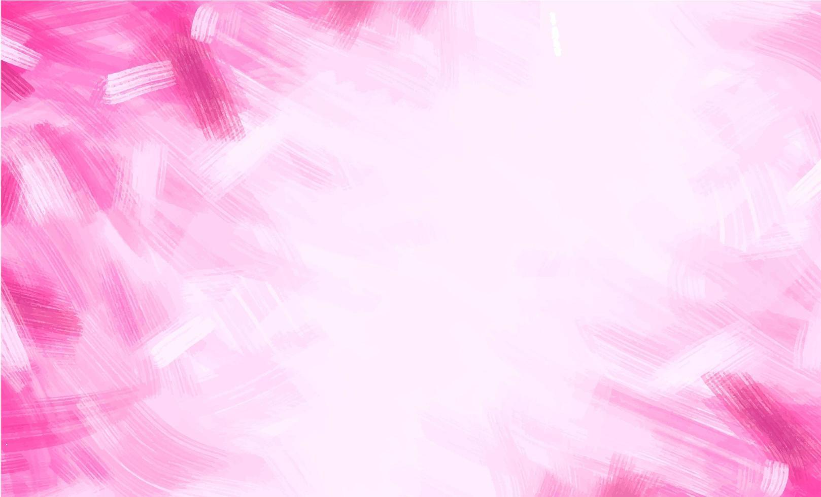 fondo de pinceladas rosa vector