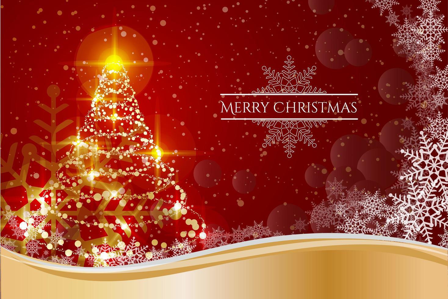 diseño de fondo feliz navidad vector