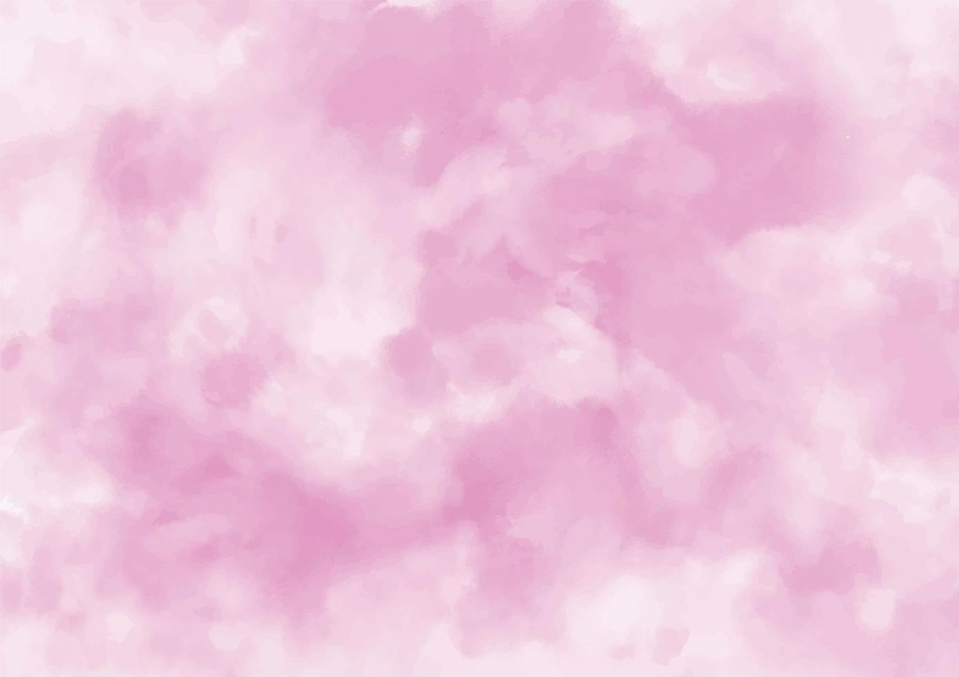 fundo aquarela rosa delicado vetor