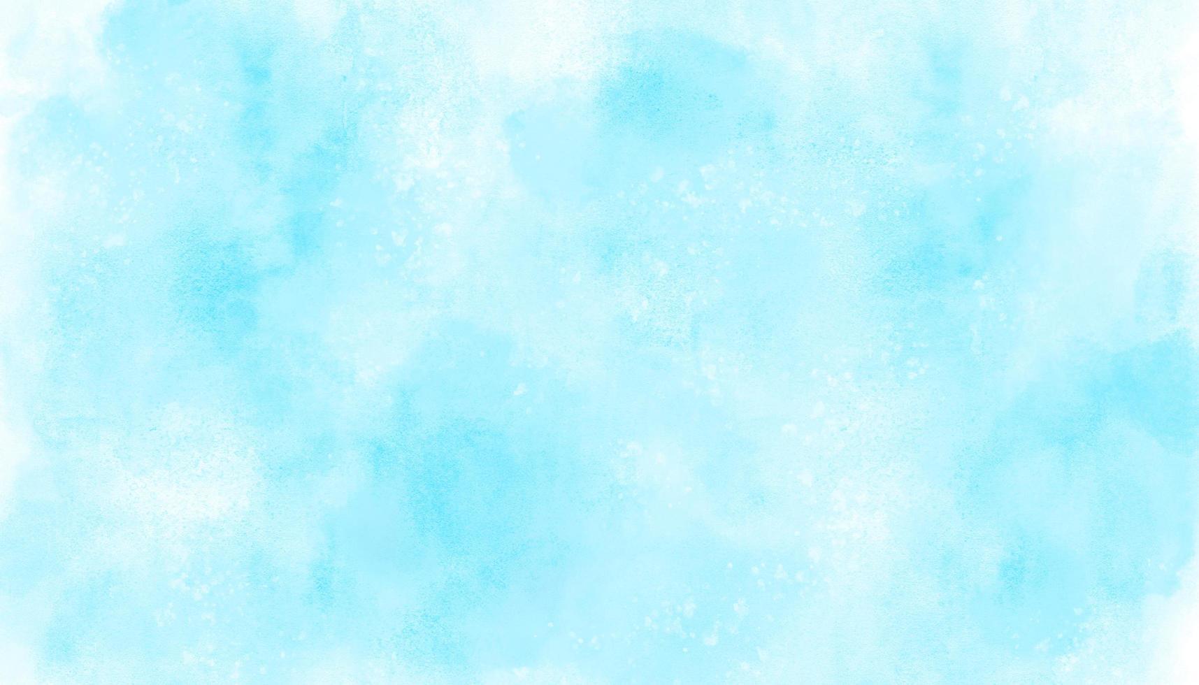 fondo azul acuarela vector