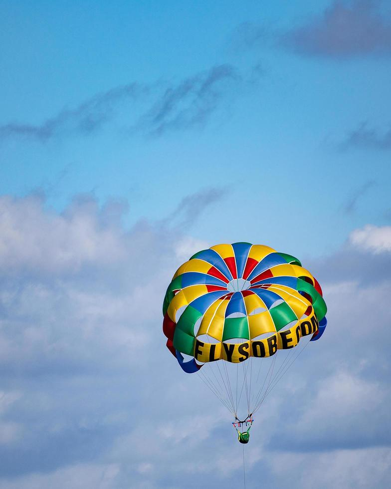 Miami, 2020 - Person parasailing during the day photo