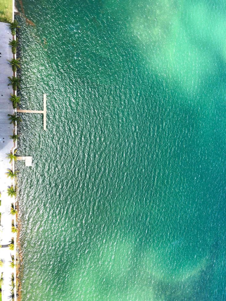 Aerial view of pool photo
