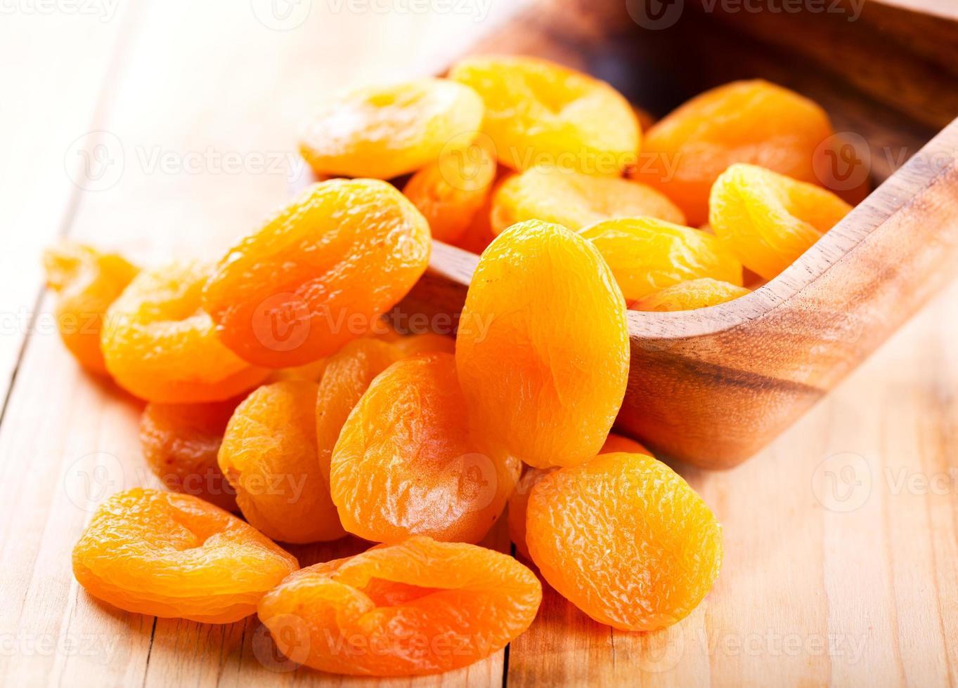 dried apricots photo