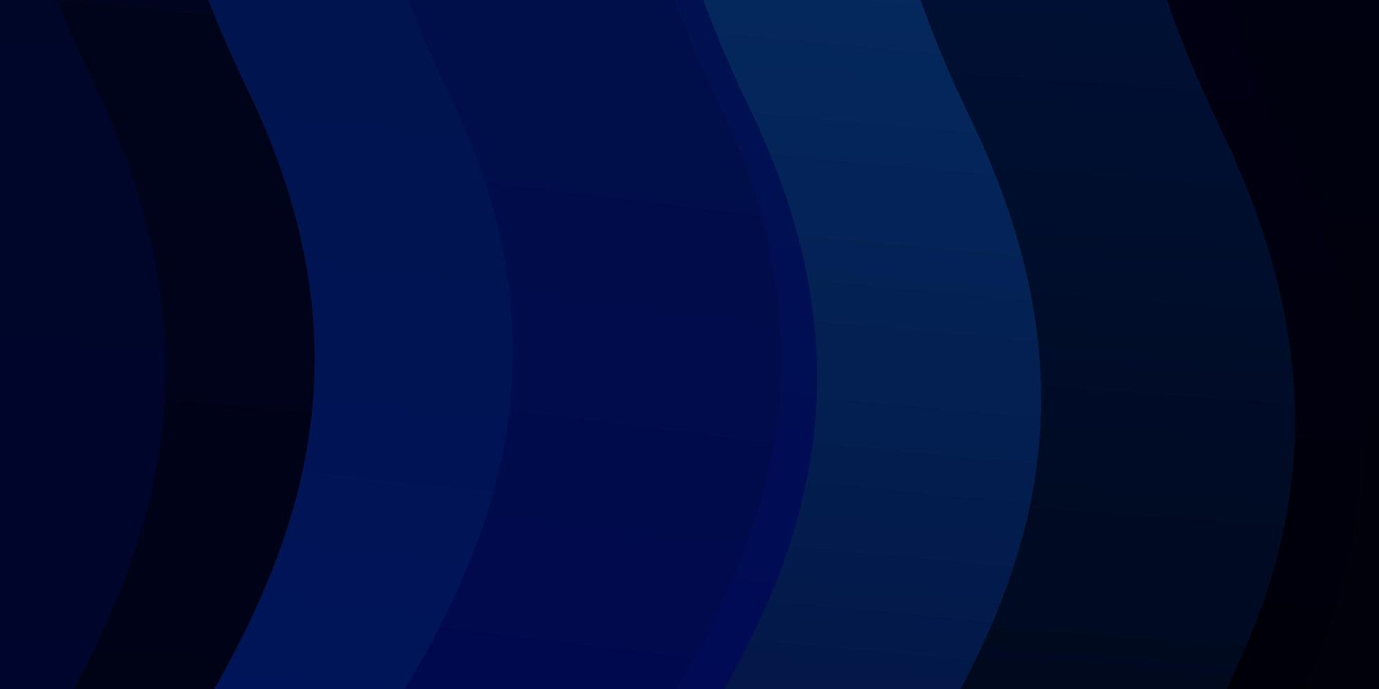Dark blue template with lines. vector
