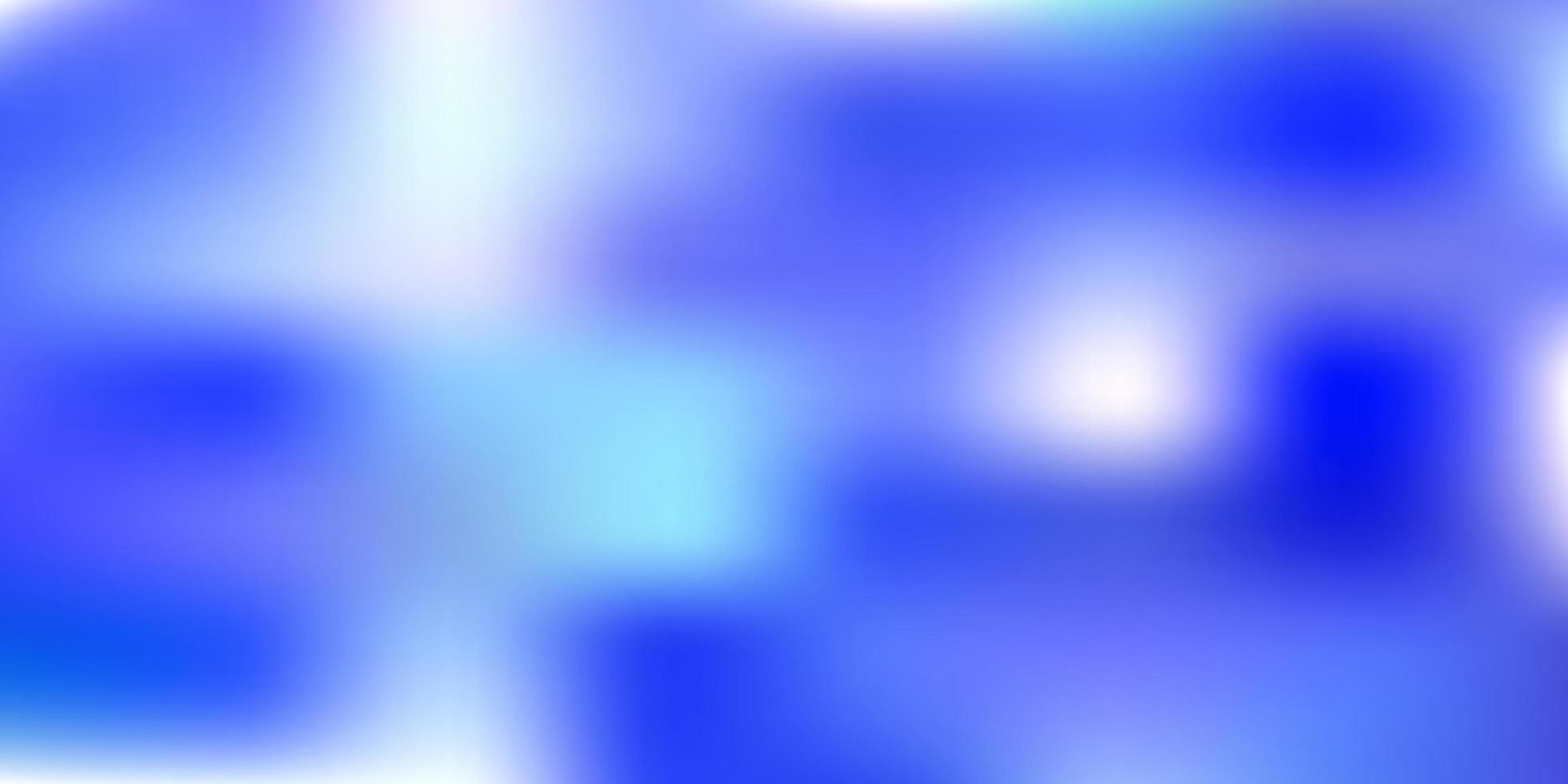 Dark blue blurred template. vector