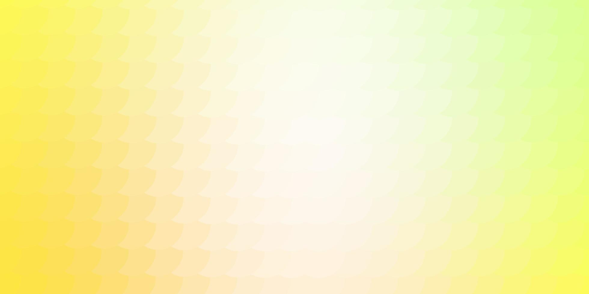 Light green and yellow texture with circles. vector