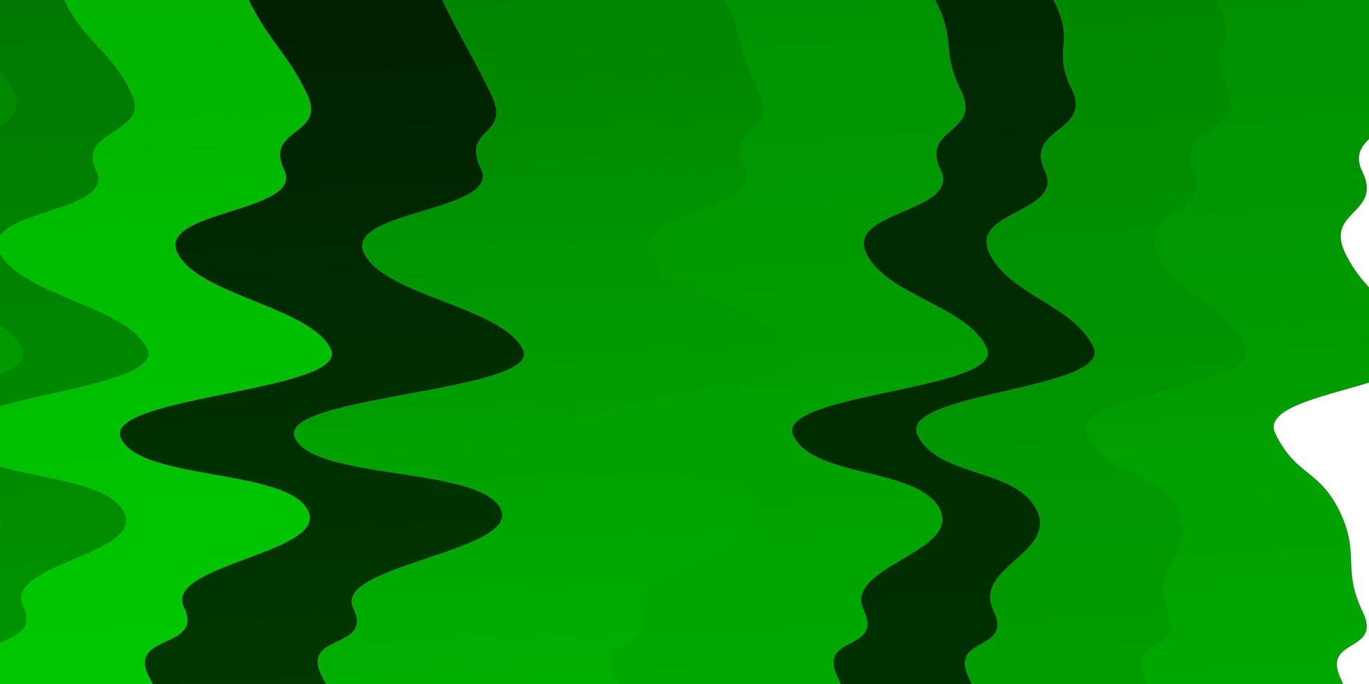 Green pattern with wry lines. vector