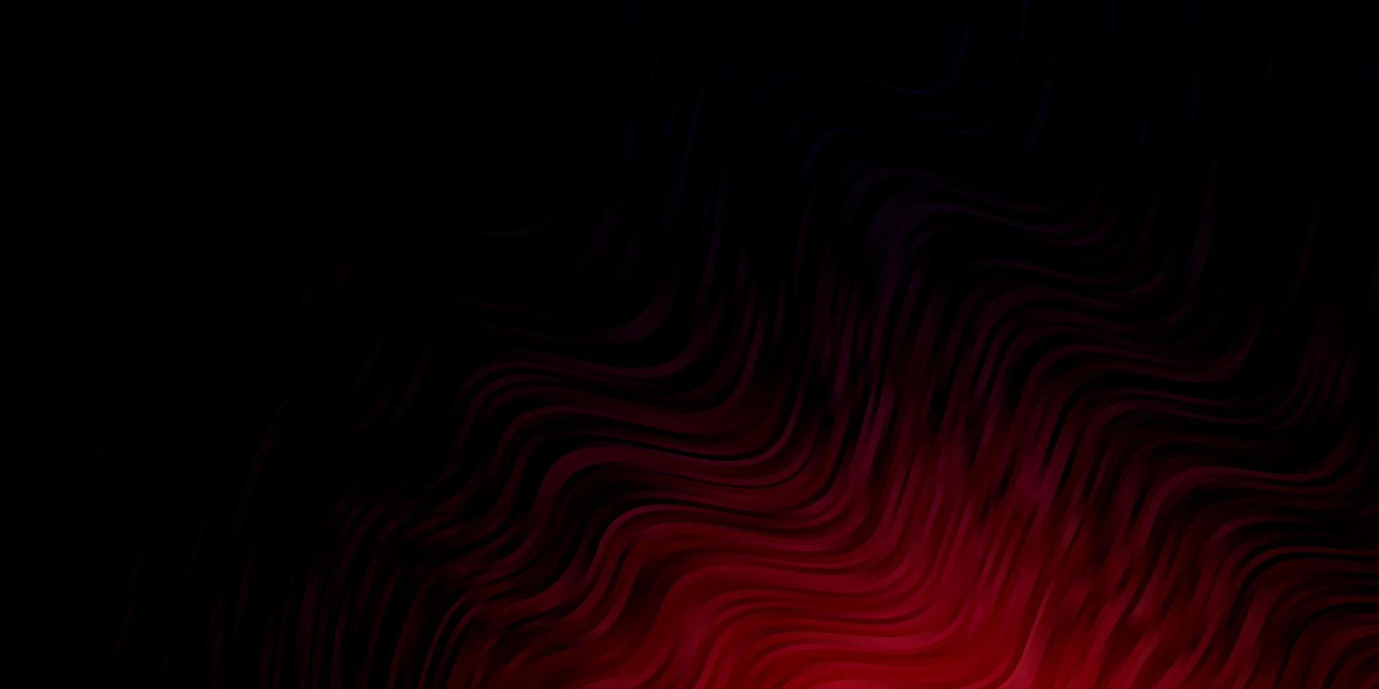 patrón rojo oscuro con líneas torcidas. vector