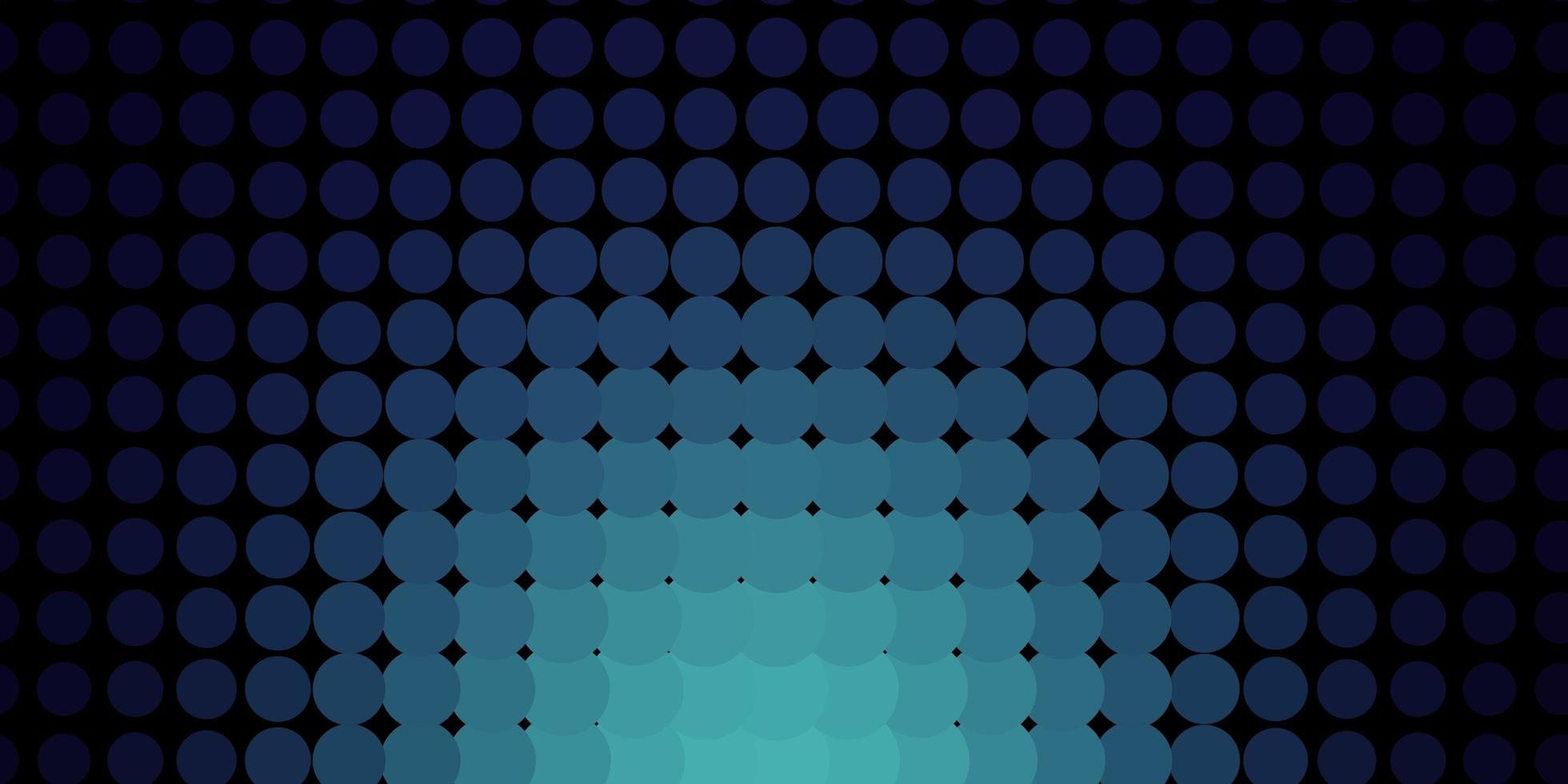 Dark blue texture with disks. vector