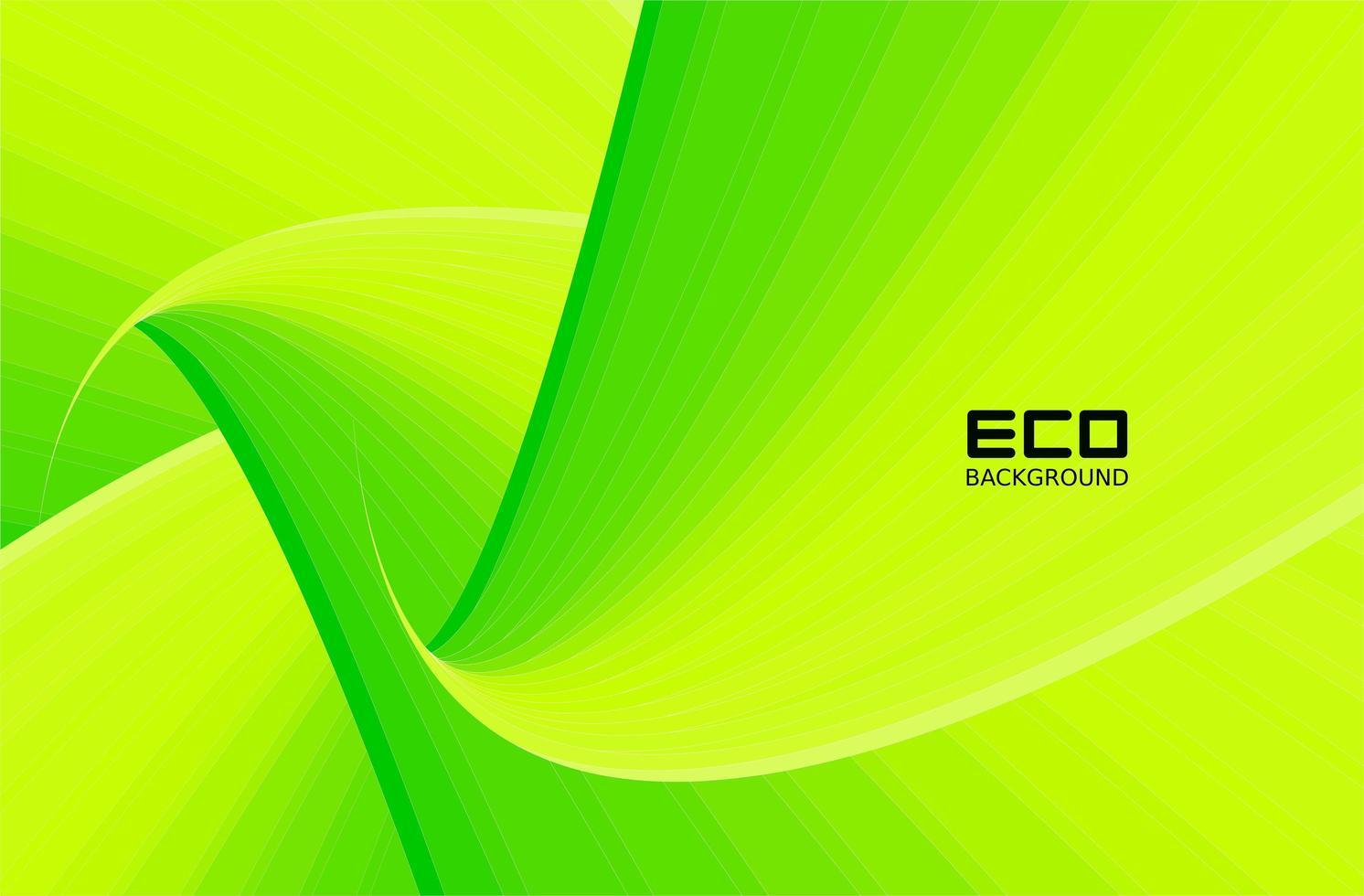 fondos ecológicos verdes con patrones de hojas vector