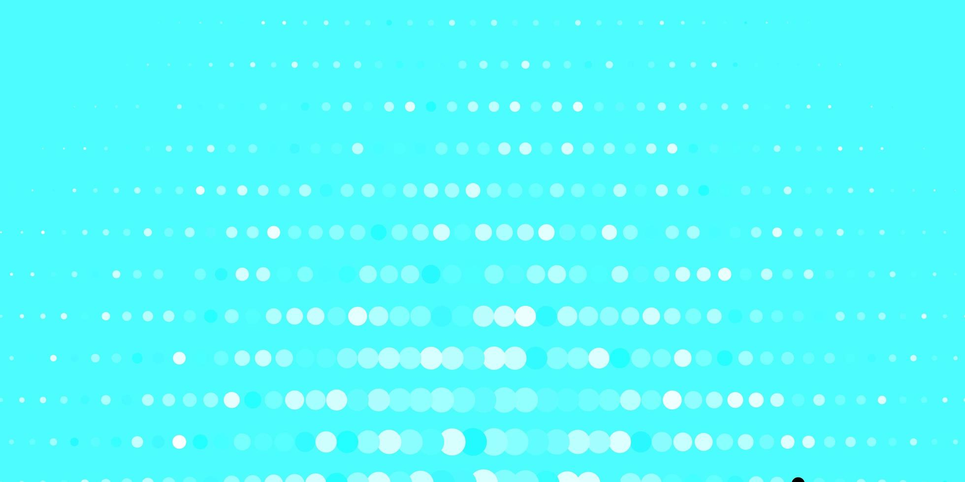 Blue pattern with spheres. vector