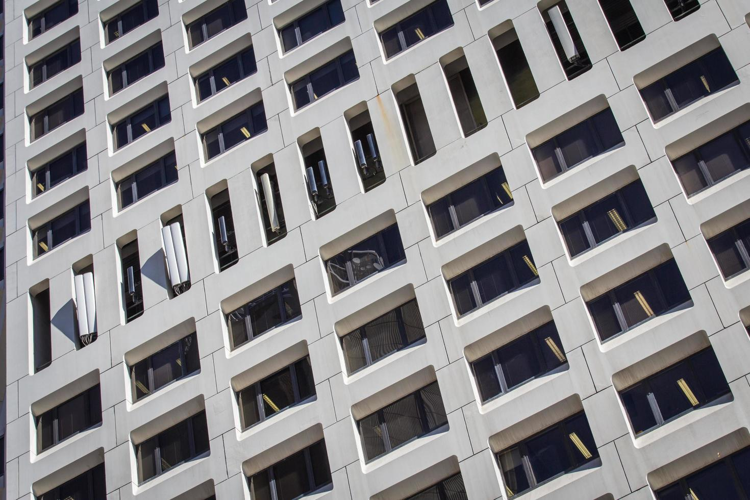 Sydney, Australia, 2020 - Low angle photo of gray concrete building