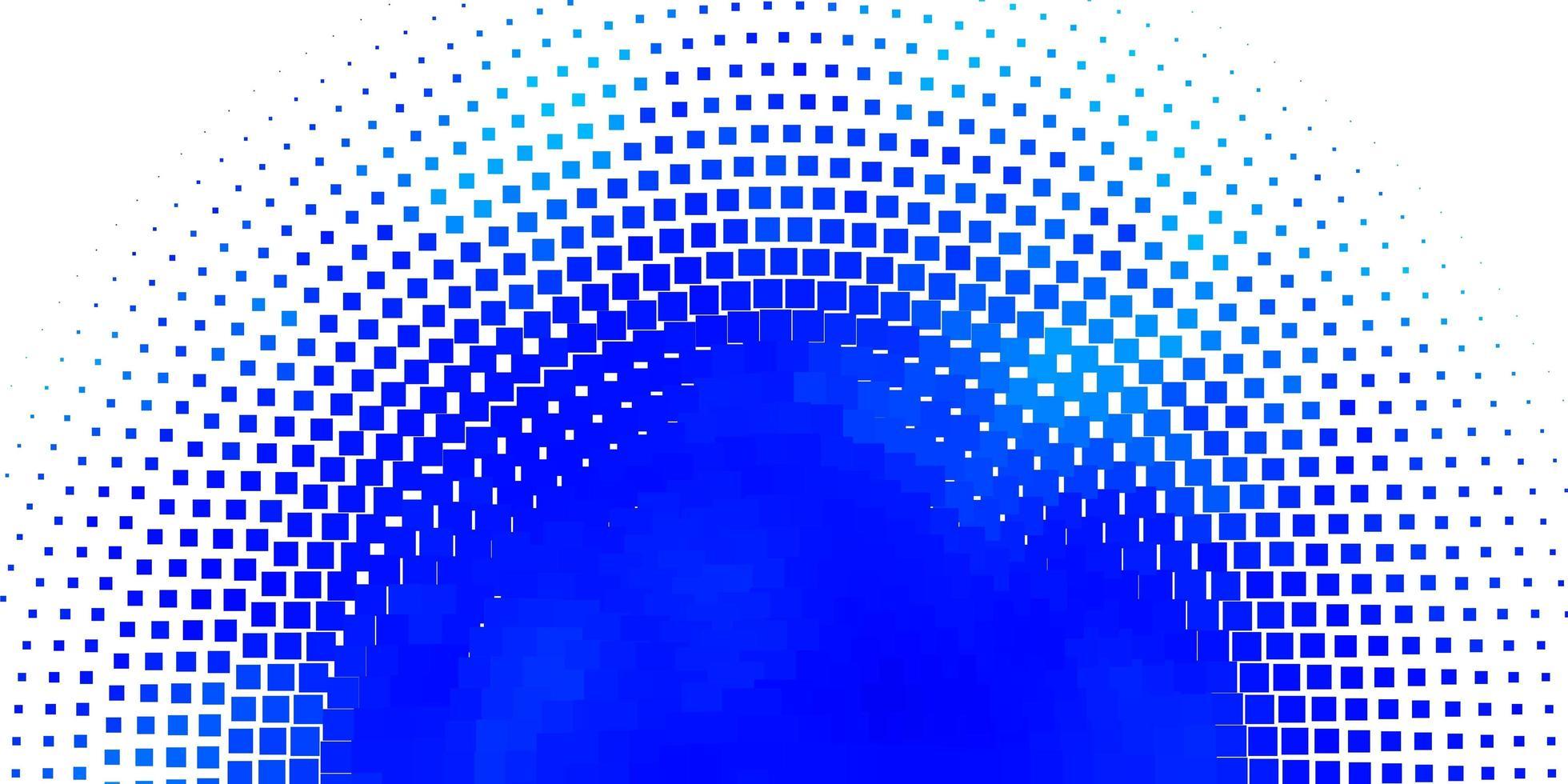 telón de fondo azul con rectángulos. vector