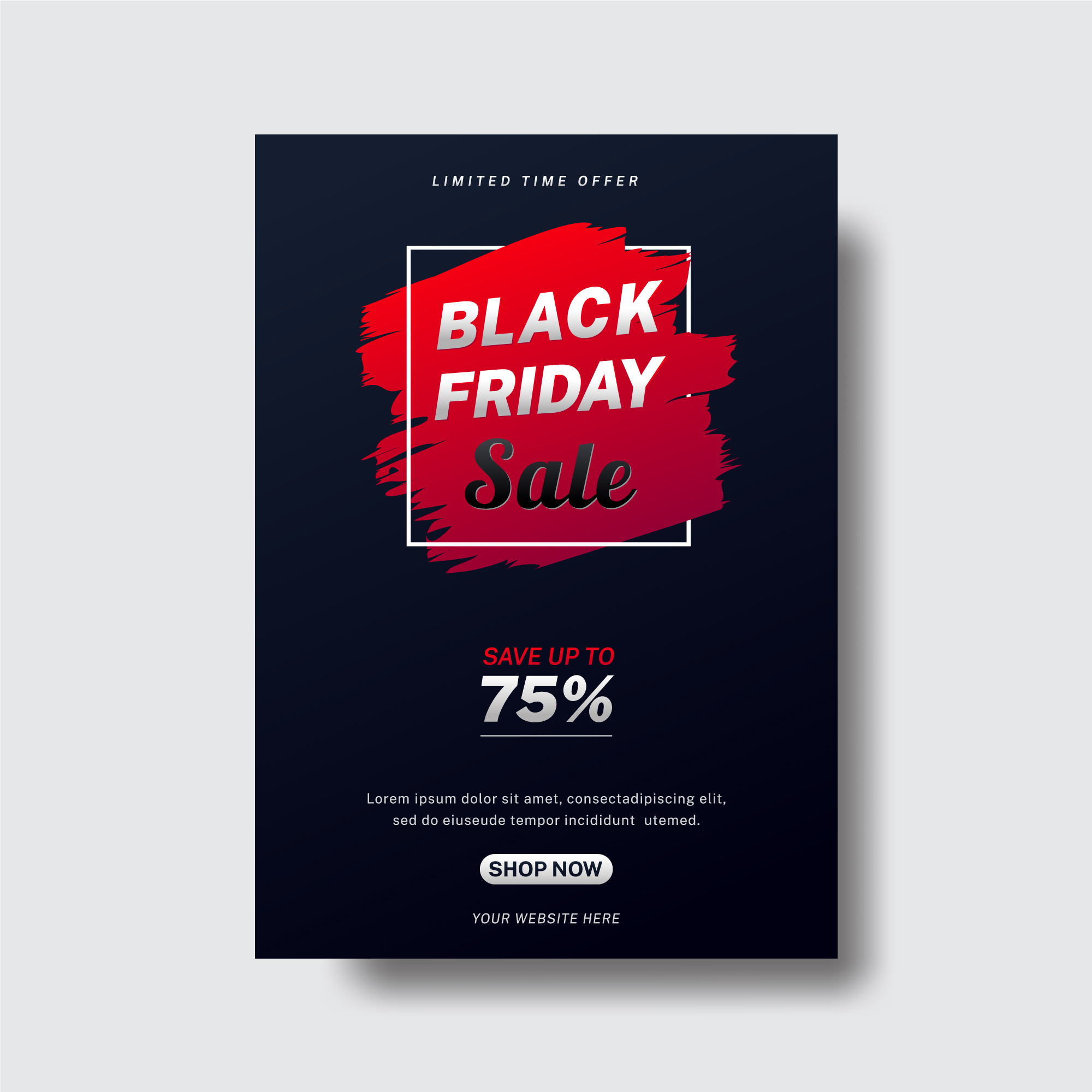 Modern Abstract Black Friday Flyer Download Free Vectors Clipart Graphics Vector Art