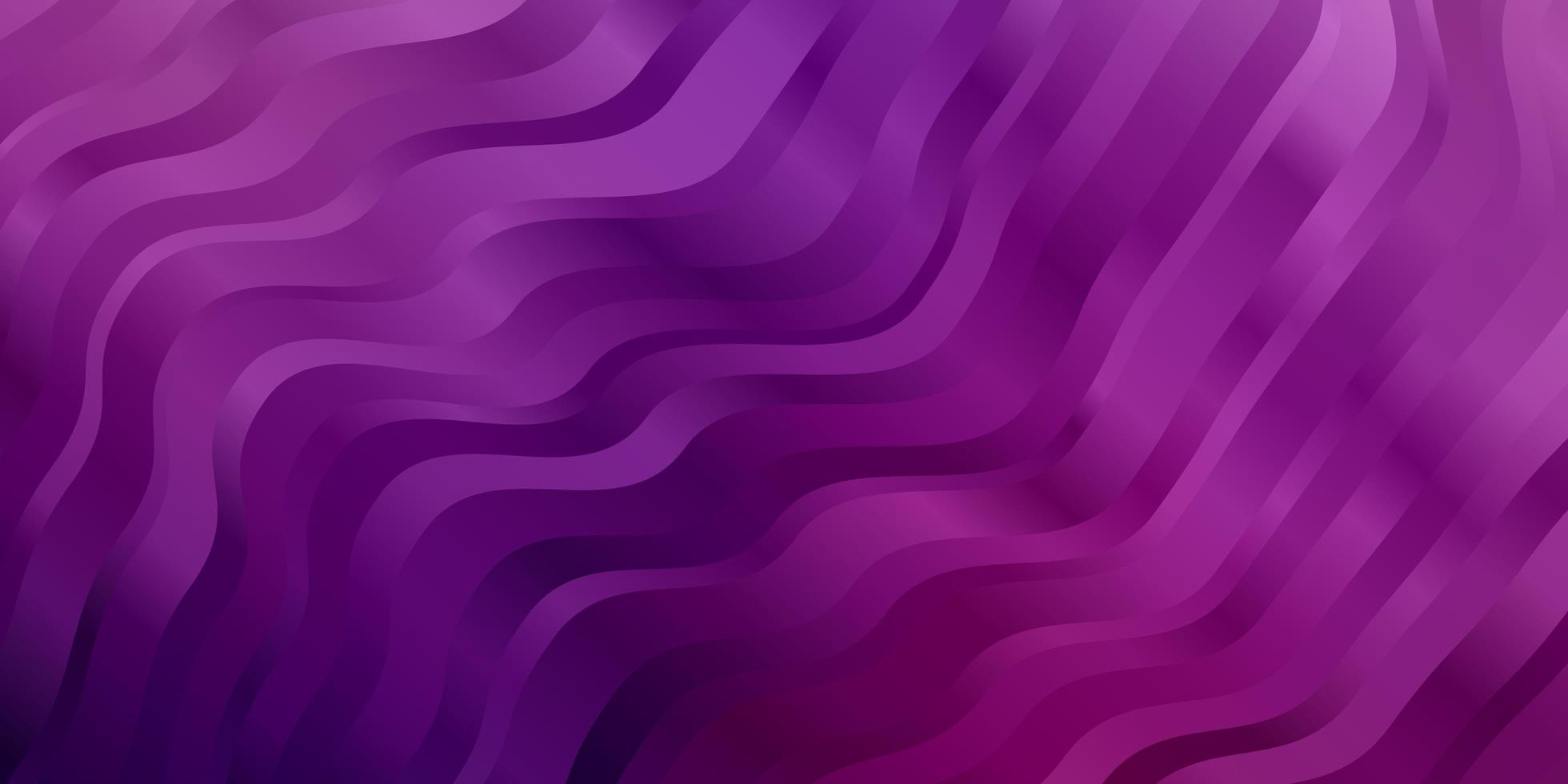 Purple and pink template with lines. vector