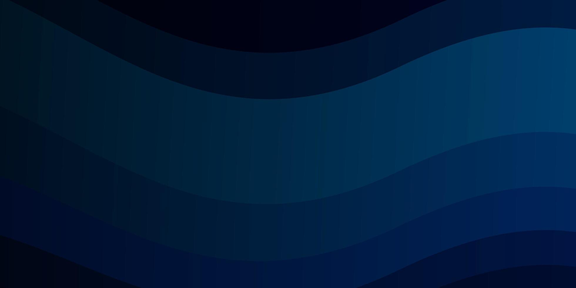 Dark blue template with wry lines. vector