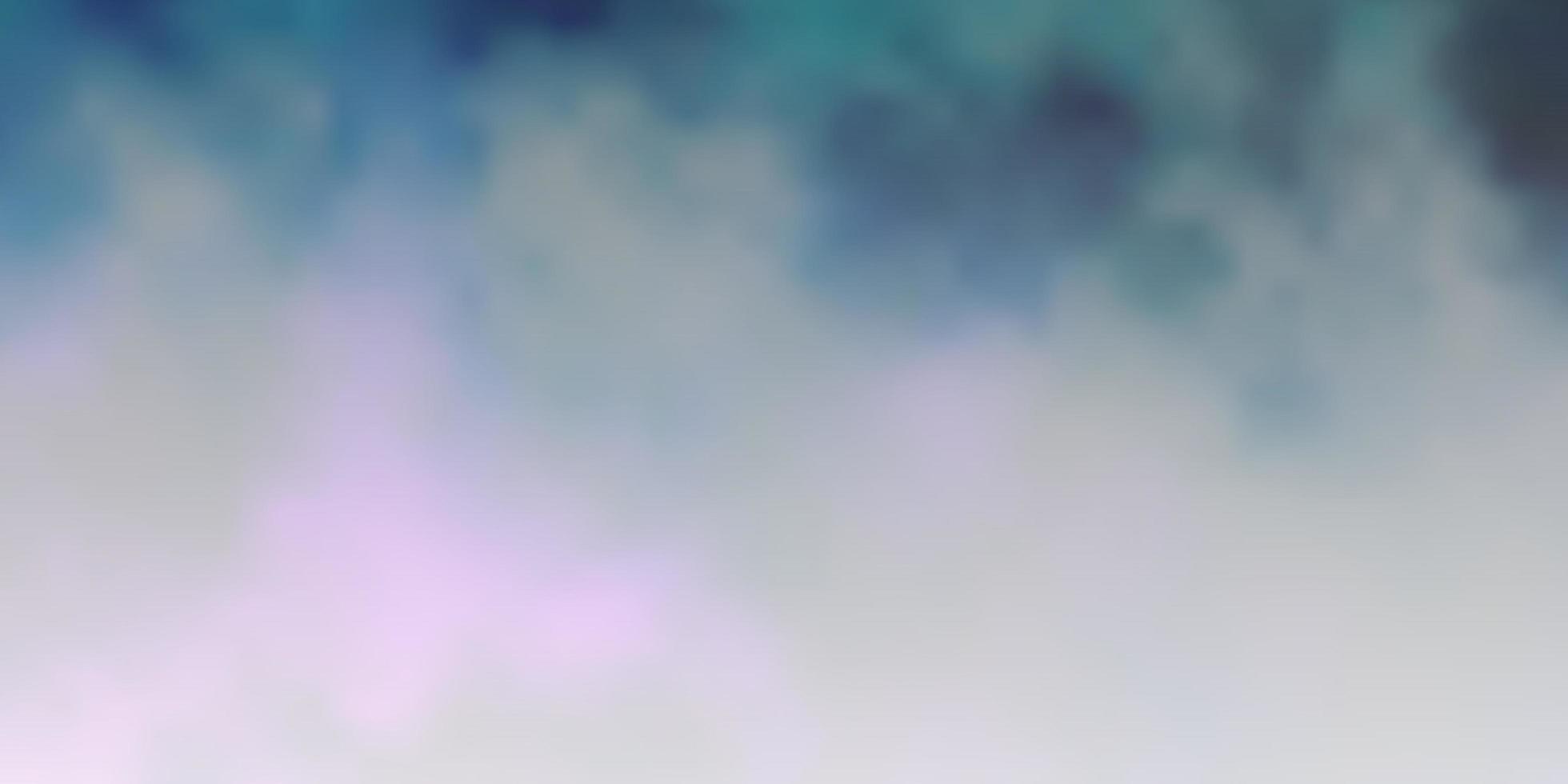 patrón azul con nubes. vector