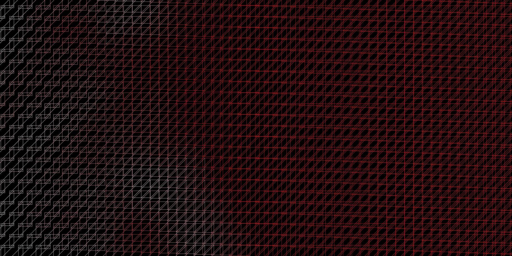 Fondo rojo oscuro con líneas planas. vector