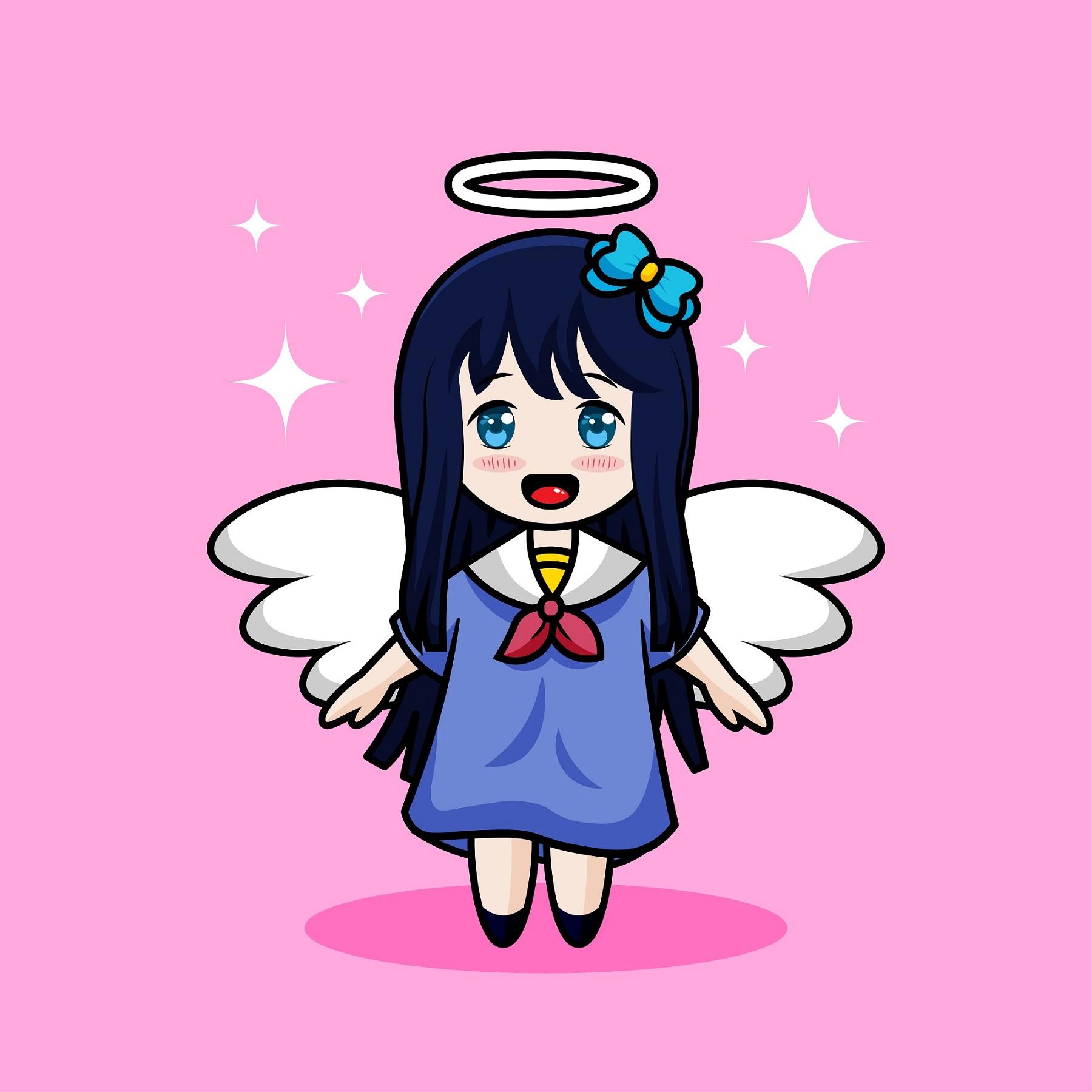 Angel Cartoon Free Vector Art 559 Free Downloads