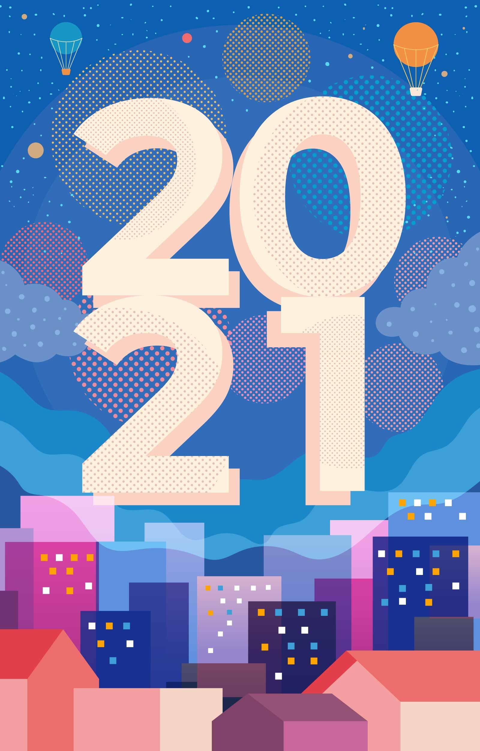 2021年Happy New Year貼圖 免費下載 | 天天瘋後製