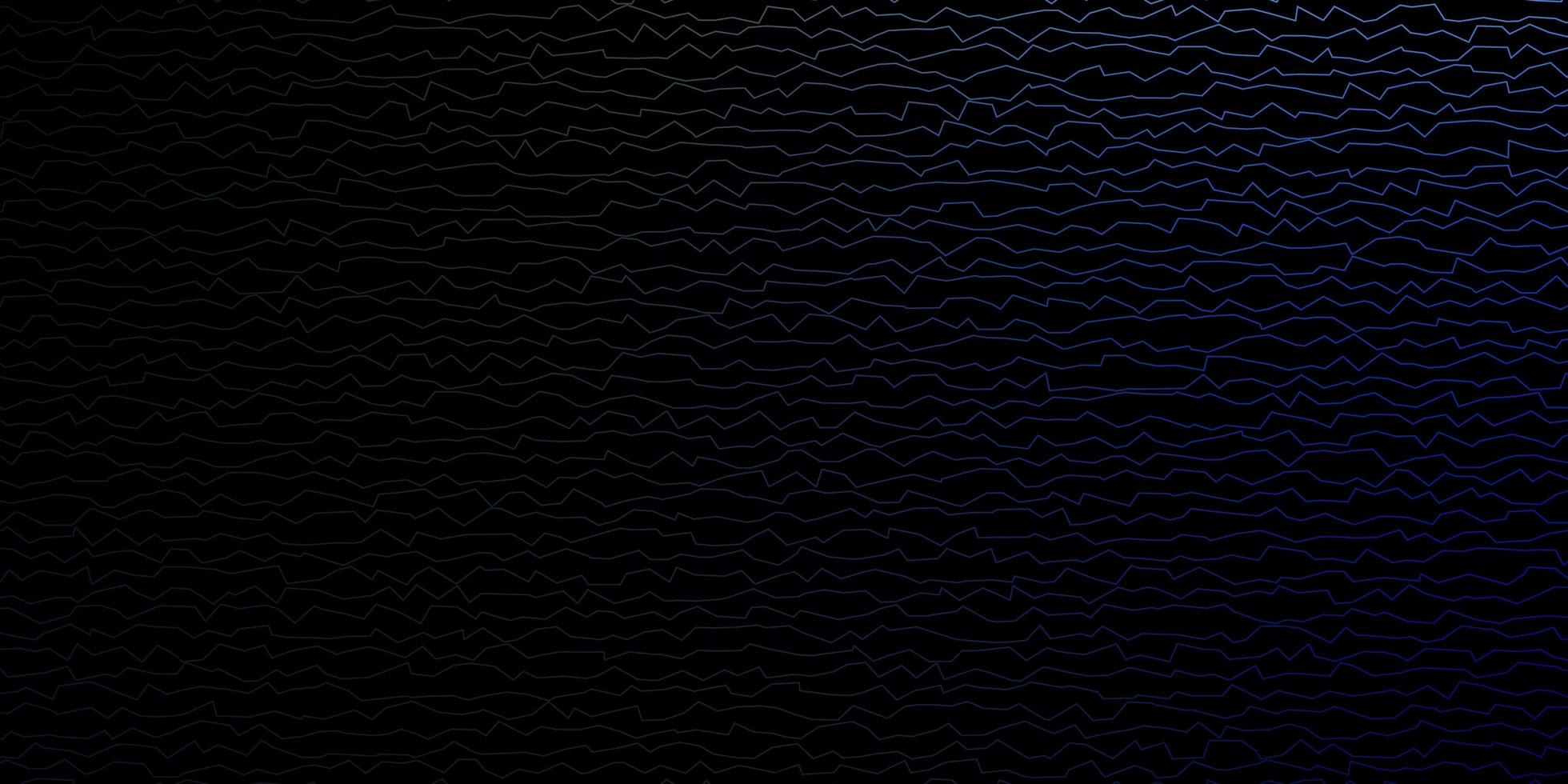 Blue and green background with wry lines. vector