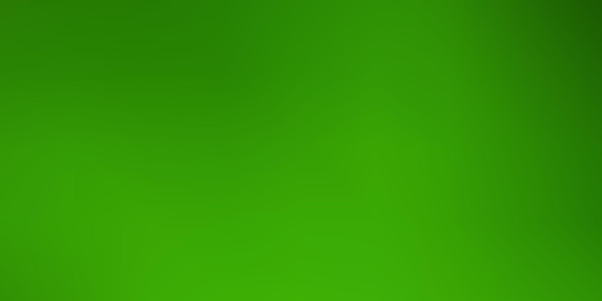 Green abstract blurred background. vector