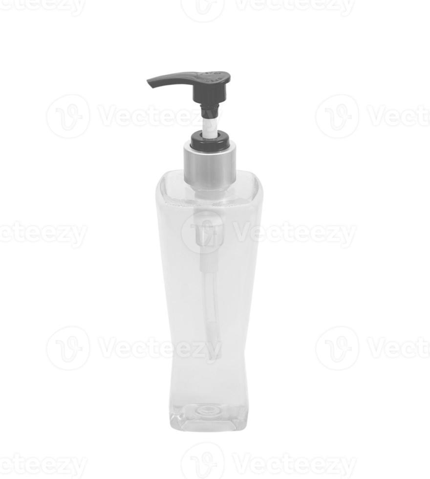 botella bomba de gel, jabón líquido, loción, crema, champú, desinfectar foto