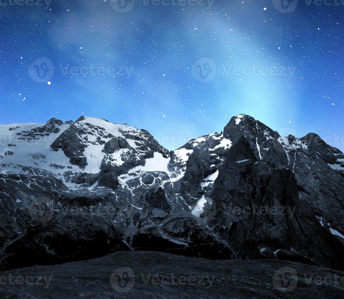 Marmolada peak photo