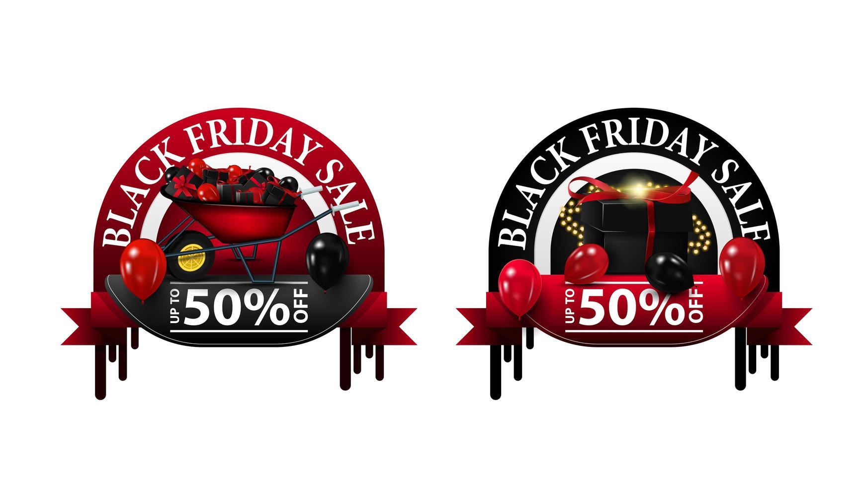 venta de viernes negro, hasta 50 cupones vector