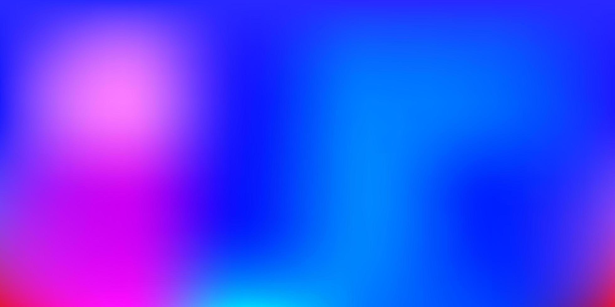 Multicolor gradient blur drawing. vector