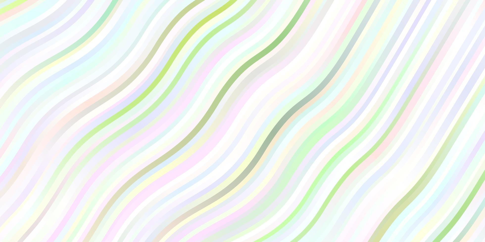 Light green layout with wry lines. vector