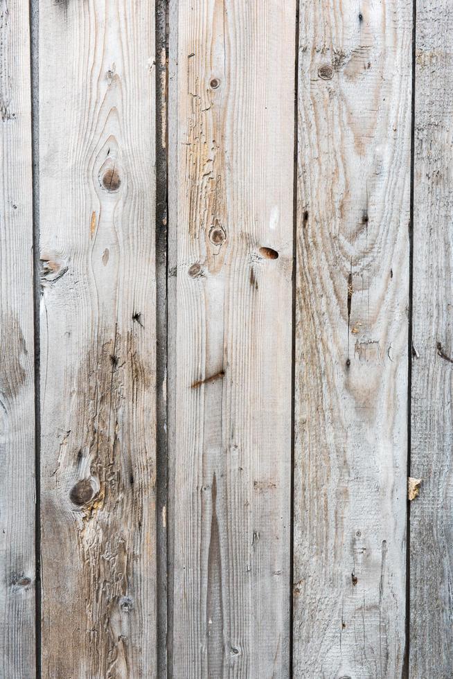 Worn white wooden surface photo