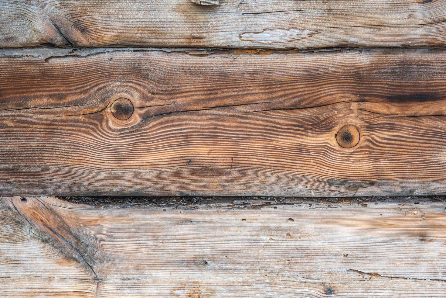 Worn wooden background photo