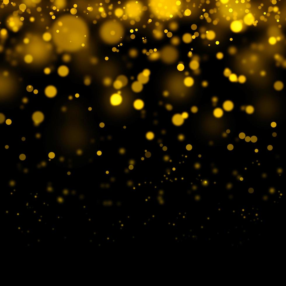 Golden bokeh background photo