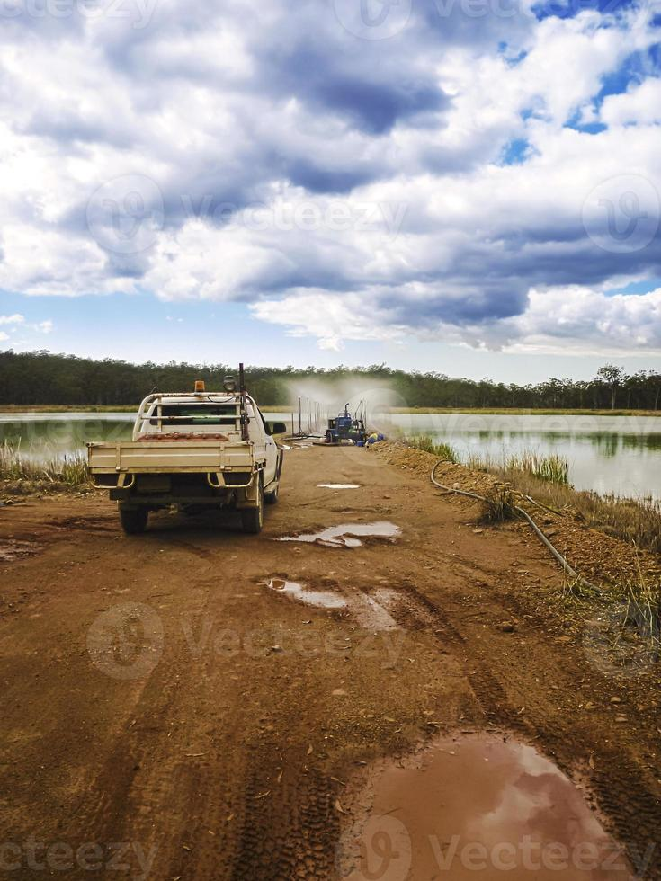 Mining Evaporation Pond photo