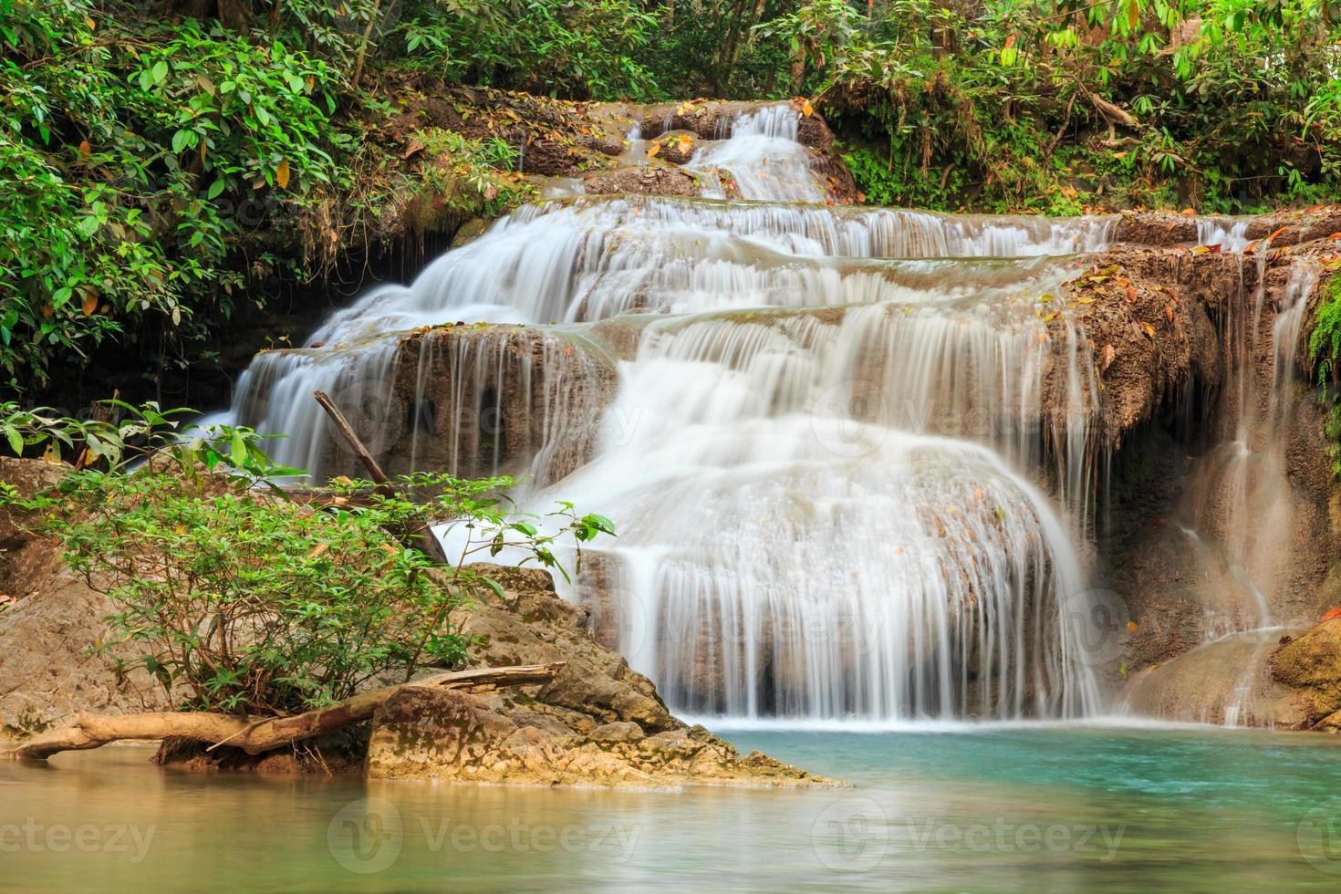 Erawan Waterfall, Kanchanaburi, Thailand. photo