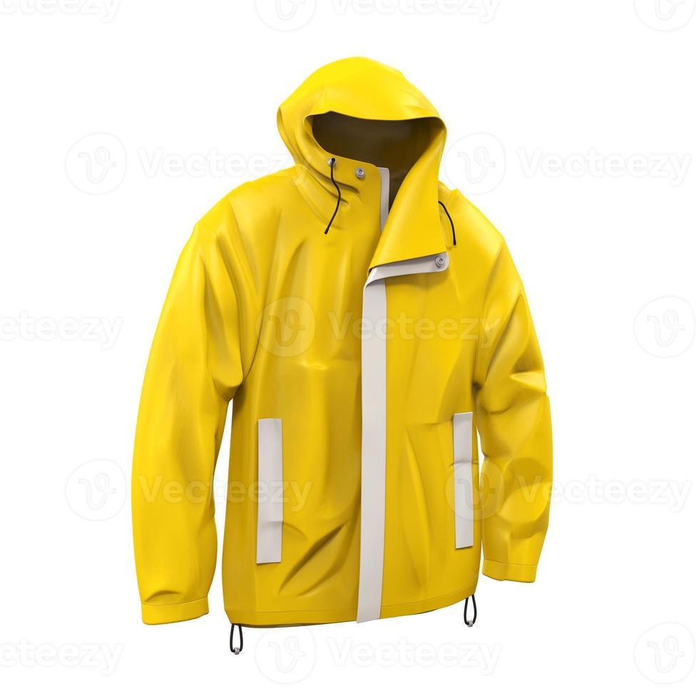 impermeable amarillo foto