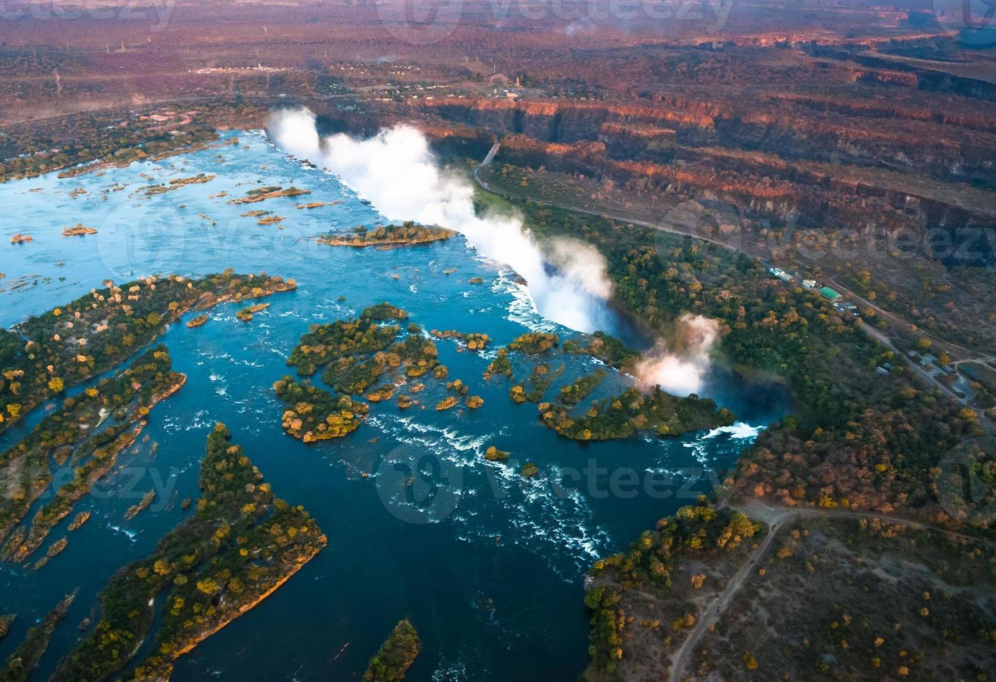 Victoria Falls from the Air photo