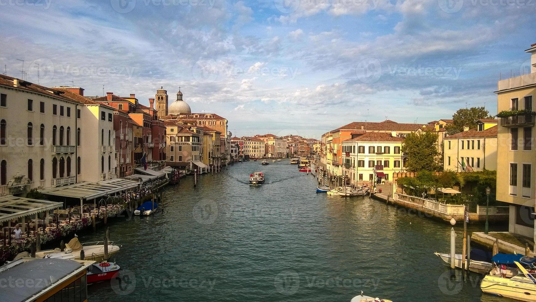 gran canal de venecia foto