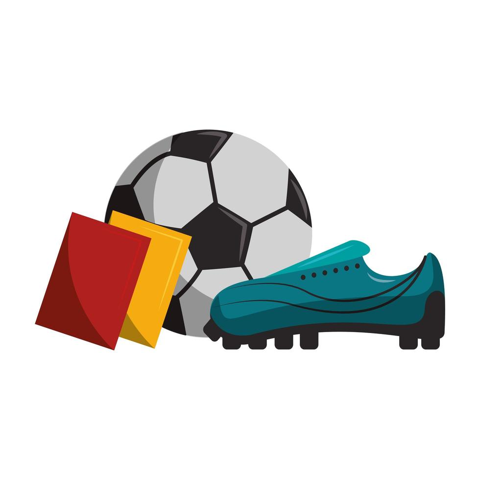 Soccer sport game cartoon vector