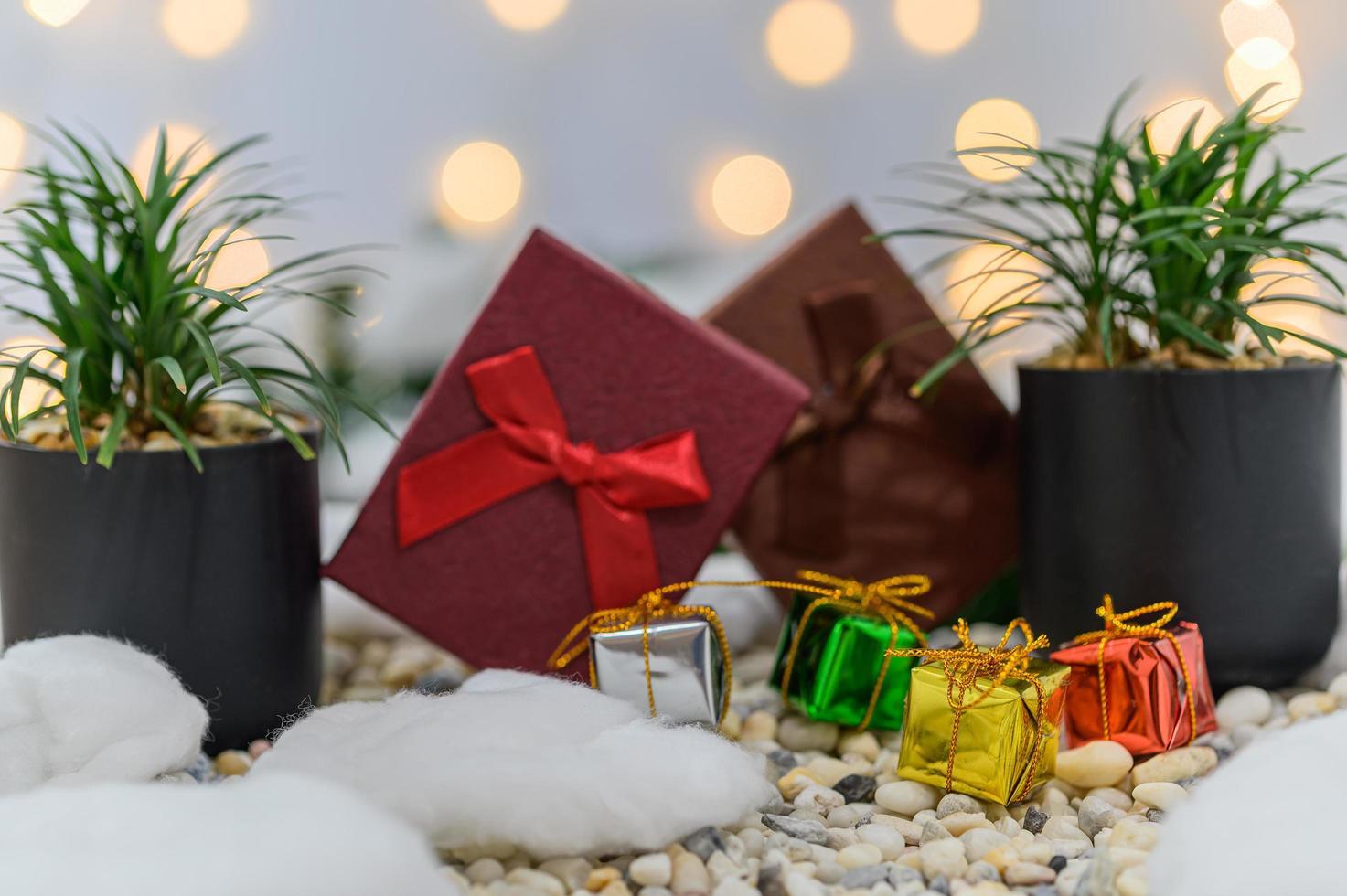fondo de navidad para la temporada de adviento foto