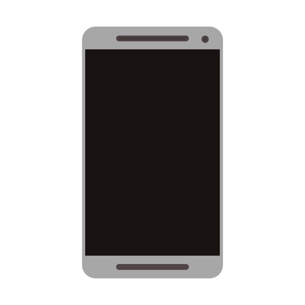 tecnología de teléfono móvil smartphone aislado vector