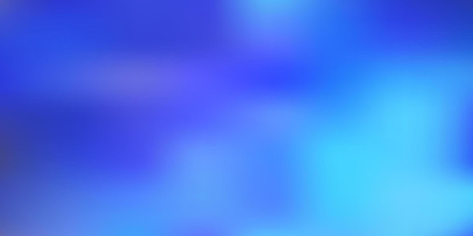 Light blue abstract blur layout. vector