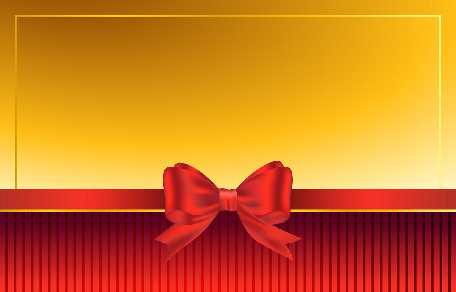 Red Ribbon Background vector